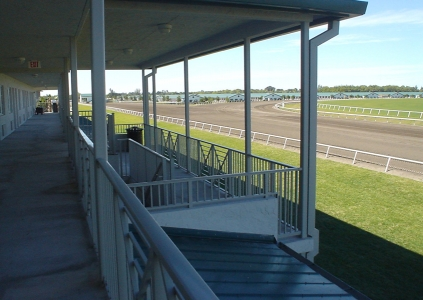 Grooms Quarters Overlooking Track